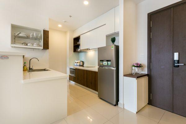 bếp căn hộ 2pn rivergate