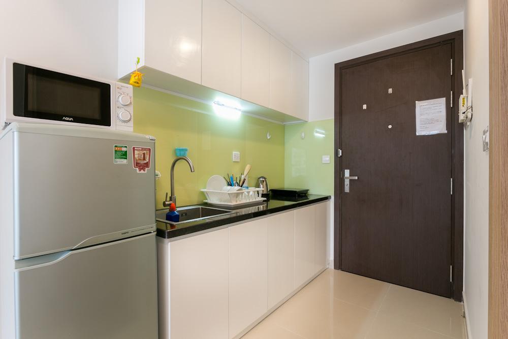 bếp căn hộ studio