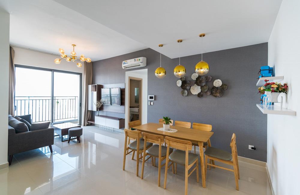 Căn Hộ 3 PN Rivergate Residence Cho Thuê Ngắn Hạn