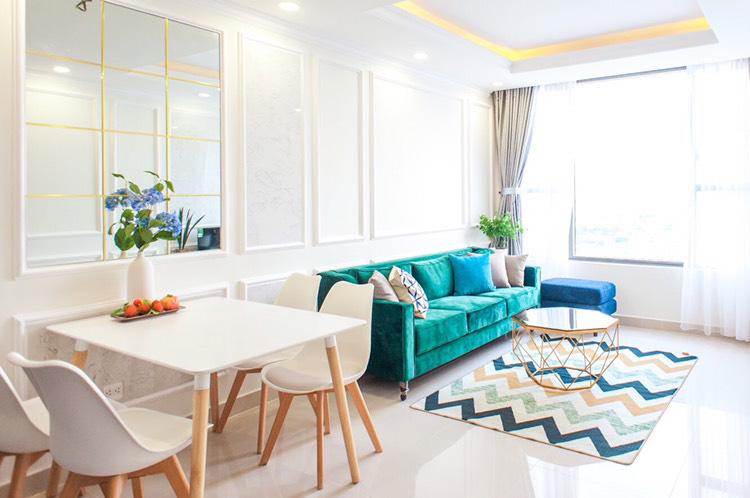 Rivergate Residence Căn Hộ 2PN Cho Thuê Theo Ngày