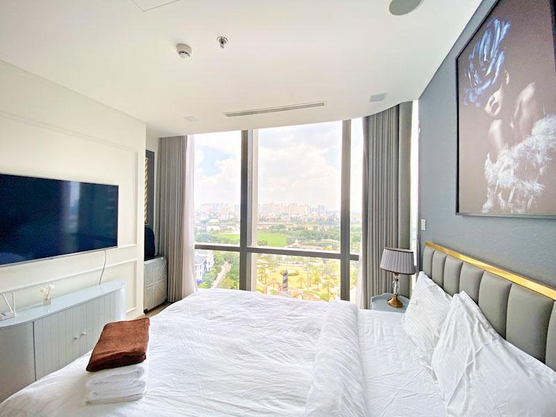 phòng ngủ căn hộ đẹp