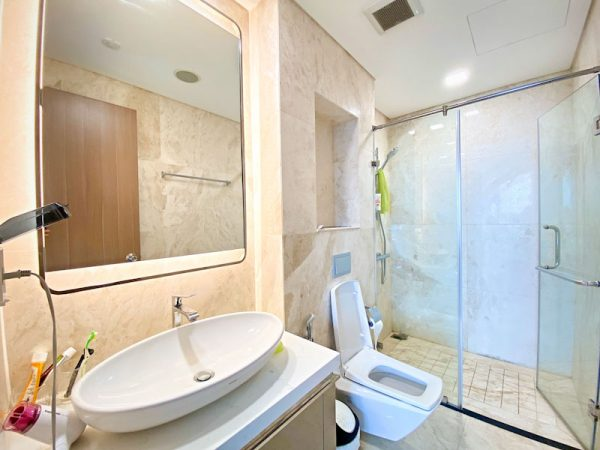 phòng tắm căn hộ cho thuê theo ngày