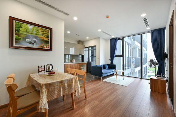 cho thuê căn hộ eco green theo ngày